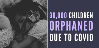 The number of children orphaned from parents who succumbed to COVID is staggering, according to NCPCR