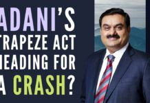 Adani's trapeze act heading for a crash? Another uber-entrepreneur has some explaining to do on the source of funding of some Mauritius-based shell companies