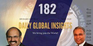 EP 182 | Daily Global Insights | Jun 15, 2021 | US News | India News | Global News | Markets