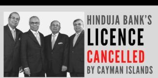 The mask is getting ripped off IndusInd Bank now with the Regulator of Cayman Islands findings