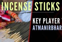 The author wisely explains how the Indian Incense sticks industry is one of the keys to achieving Atmanirbharta in the cottage industries and a to create a strong economy
