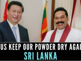 China must have employed carrot and stick diplomacy against indebted Sri Lanka to cancel any possibility of a deal with India with respect to the airport