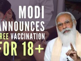 India changes course, announces free vaccination in an indirect dig at States trying to make money off vaccines