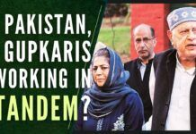 Pakistan & Gupkaris singing the same song or spoke almost the same language must remain a matter of grave concern