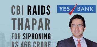 Thapar in the hot seat again as CBI conducts raids on Yes Bank embezzlement