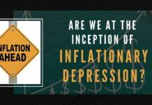 Are we at the Inception of an Inflationary Depression?