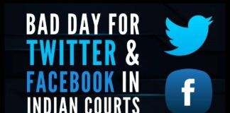 Twitter in hot water over CCO appointment and Facebook's challenge of Delhi Committee on Peace and Harmony is rejected by the Apex Court