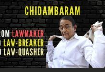 The many colourful hats that a colourful Chidambaram wears, sometimes to beat his own legislation!