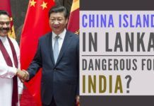 An artificial island built by China just outside Colombo, with no Sri Lanka jurisdiction means China has a listening post within 100 km of India