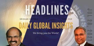 July 28th, Wednesday, Daily Global Insights Headlines