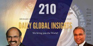EP 210   Daily Global Insights   Jul 24, 2021   US News   India News   Global News   Markets