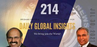 EP 214   Daily Global Insights   Jul 30, 2021   Global News   US News   India News   Markets