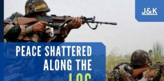 Indian army gunned down heavily armed terrorists hiding inside the Indian territory since June 29, two soldiers martyred