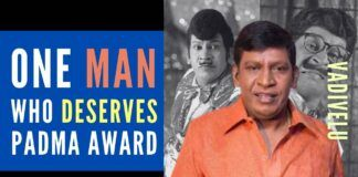 People of TN should come forward voluntarily and unanimously support actor Vadivelu for a Padma Shri setting aside his personal life and other political affiliation.