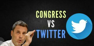 """Days after the temporary suspension of his Twitter account, Congress leader Rahul Gandhi on Friday accused the US-based microblogging giant of """"interfering in the national political process"""