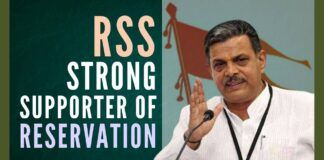 RSS reaffirms its support for reservations, calls it a tool for affirmative action