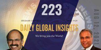 EP 223 | Daily Global Insights | Aug 12, 2021 | Global News | US News | India News | Markets