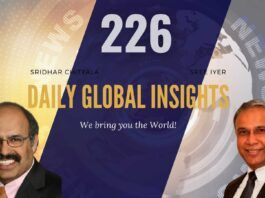 EP 226   Daily Global Insights   Aug 17, 2021   Global News   US News   India News   Markets Afghanistan update and more with Sridhar Chityala