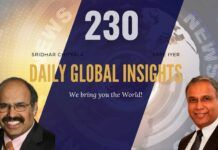 EP 230 | Daily Global Insights | Aug 23, 2021 | Global News | US News | India News | Markets, Afghanistan update and more with Sridhar Chityala
