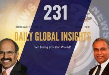 EP 231 | Daily Global Insights | Aug 24, 2021 | Global News | US News | India News | Markets, Afghanistan update and more with Sridhar Chityala