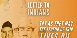 Were the popularity and followership gained amongst Indians by Bhagat Singh, Sukhdev, Raj Guru, and their ideals the reason for Gandhi and his cohort's insecurity?