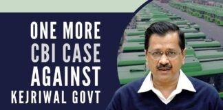 Another day, another scam by the Kejriwal Govt. as MHA orders a CBI Preliminary inquiry