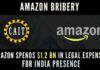 If CAIT's allegations are correct, Amazon spent fully 20 percent of its revenues on lawyers who were bribing various govt. officials