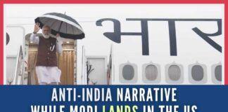 Anti-India Narrative While Modi Lands in the United States