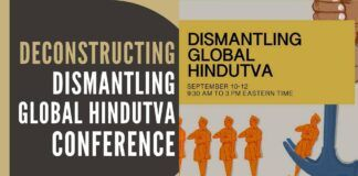 The focus of this article is to deconstruct the conference title and graphic and its timing in spitting the venom and negativity about Hinduism.