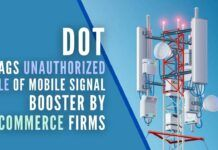 Considering unauthorized mobile signal repeaters & walkie-talkies as a security threat, DoT asks Customs dept to sought strict implementation of import rule