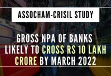 A broad swath of loans given to MSME could be in trouble, says a study by CRISIL & Assocham