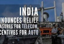 India's booster shot to Telecom sector, Auto, Auto-components & drone industries