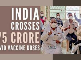 Impressive vaccination numbers achieved by India in its drive to conquer Covid