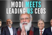 Modi courts Corporate America, meets several CEOs