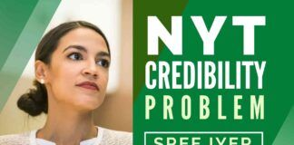 New York Times quietly removed a possible anti-Semitic phrase in its zeal to paper over a switch of vote by its favorite, Alexandria Ocasio Cortez.