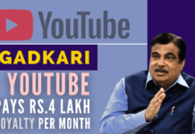 Interesting revelations by Union Minister Nitin Gadkari on how he grew his YouTube channel