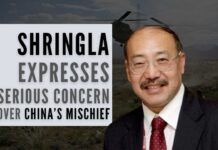 India's Foreign Secretary expresses serious concern over China's mischief