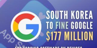 Did Google force Smartphone manufacturers into using their software? S Korea thinks so