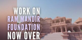 Ayodhya Ram Mandir foundation completed, revealed in a press conference