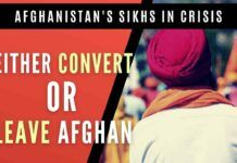 The Sikh community that lived in Afghanistan from centuries has been asked to leave the country if not converted to Islam