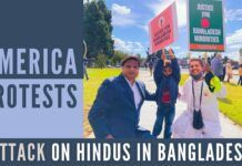 Hindus from over 100 countries protested the killing of Bangladeshi Hindus in a spontaneous expression of solidarity. Will the Bangladeshi government listen and ensure the safety of its 8 percent Hindus?