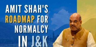 Describing PM Modi's vision about J&K, Amit Shah said, PM wants J&K to be a 'giver' and not a 'taker' region of the country