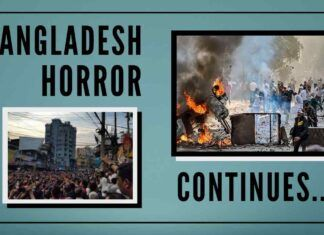 The atrocities on the Hindu community continue in Bangladesh and is far from under control.