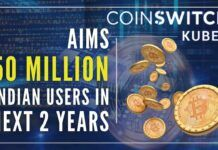 With more than 15 million users in India, CoinSwitch Kuber has become a new unicorn and most valuable crypto company in the country valued at $1.9 billion