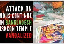 In another attack on Bangladesh's minority Hindu community, mobs allegedly attacked ISKCON temple in Noakari region