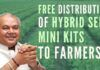 The objective of Seed Mini Kit programme is to polarise new varieties with high yield potential and other useful features