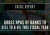 The retail & MSME segments, which together form close to 40% of banks credit, are expected to see higher accretion of NPAs
