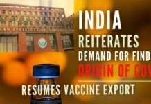 India again pitched for finding origins of COVID-19, a day after WHO set up a group of experts to carry forward studies on contentious issue