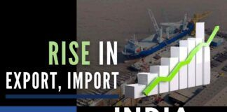 India's merchandise exports saw a rise of 22.63 percent on a year-on-year basis in September 2021