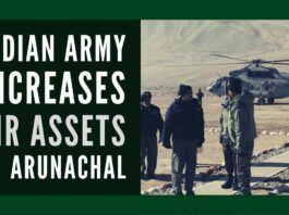 Indian Army has gradually enhanced the deployment of air assets, including unmanned aircraft, near the borders with China in the Arunachal Pradesh region